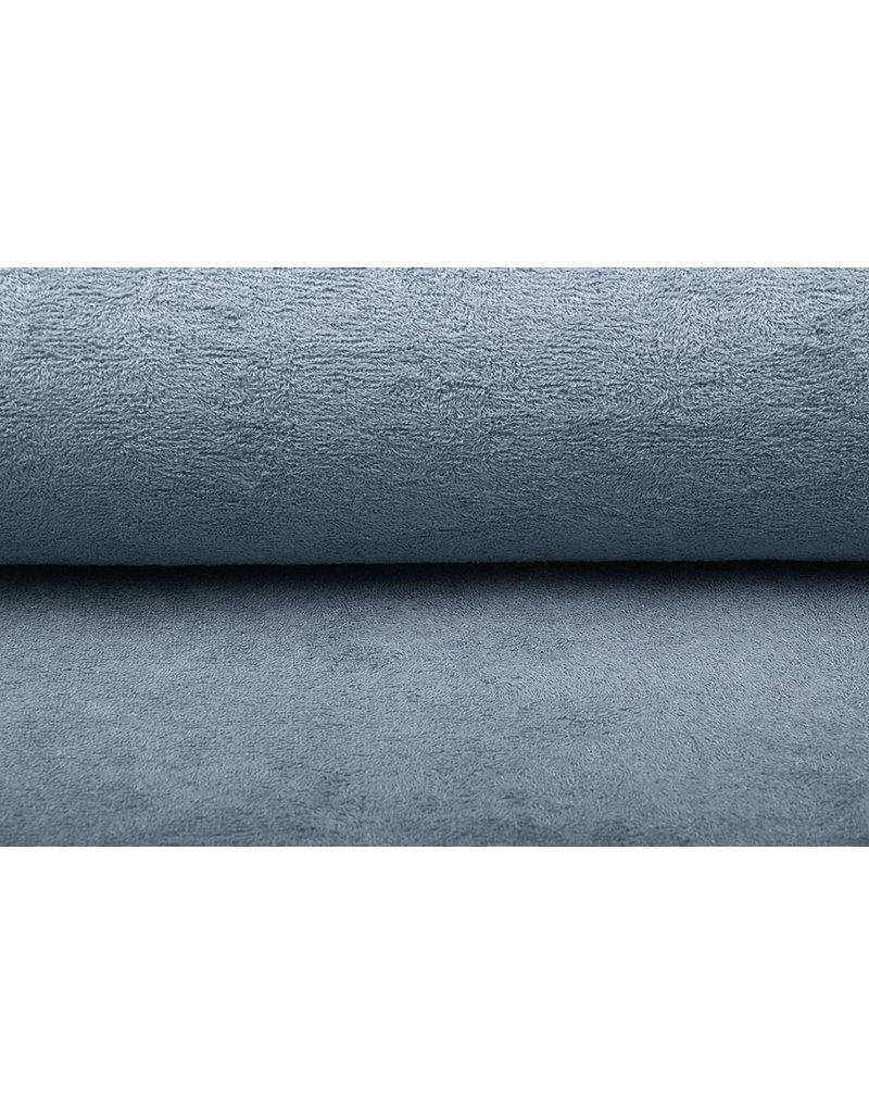Oeko-Tex®  Bamboe Badstof Grijs Blauw