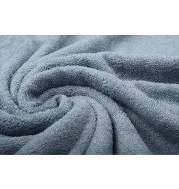 Oeko-Tex®  Bamboo Terry Cloth Grey Blue