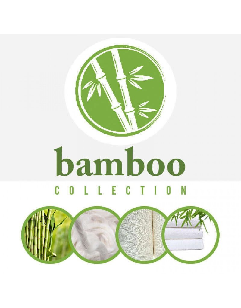 Oeko-Tex®  Bamboe Badstof Zwart