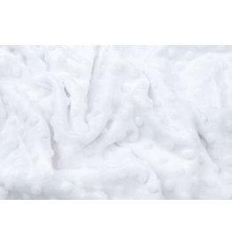 Minky Fleece Weiß