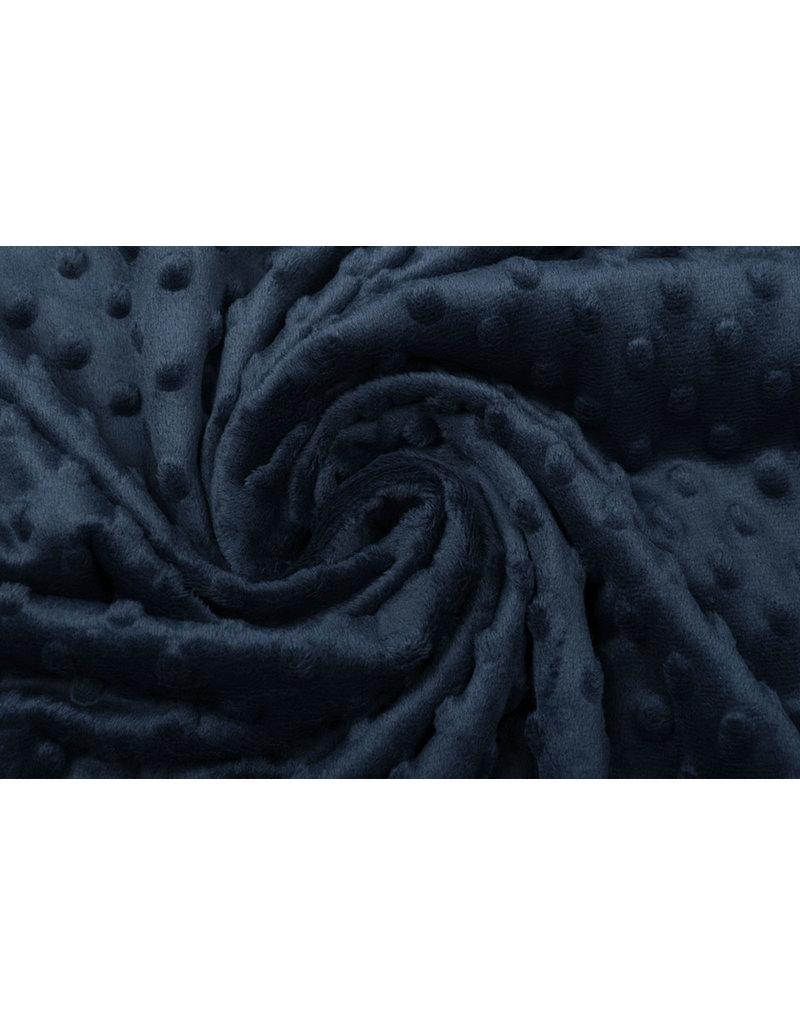 Minky-Fleece Marineblau