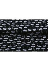 Stenzo 100% Digital Baumwolle Amarin Schwarz Weiß