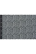 Stenzo 100% Digitaal Katoen Spots Zwart Wit
