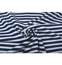 Punta Stripes Marine White