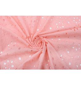 Stickerei Baumwoll  Matunda Rosa