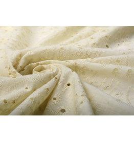 Embroidery Cotton Bonita Beige