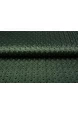 Minky Fleece Armeegrün