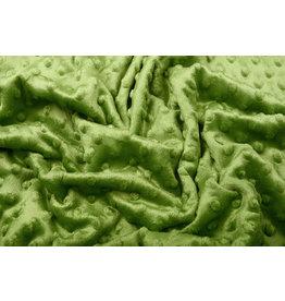 Minky Fleece Donker Lime