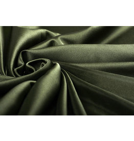 Charmeuse Lining Army Green