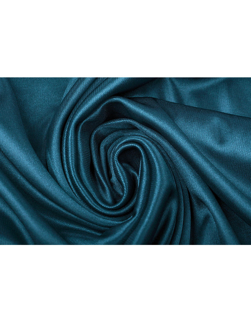 Charmeuse Voering Navy
