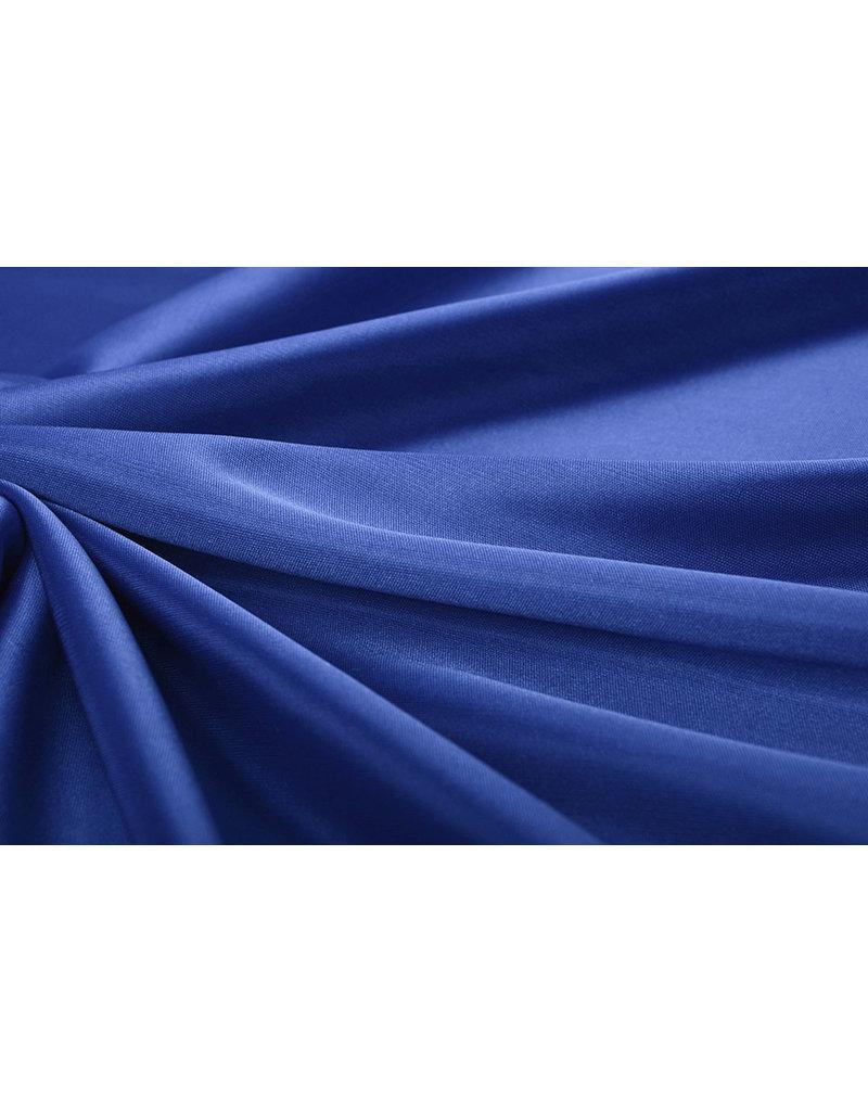 Charmeuse Voering Koningsblauw