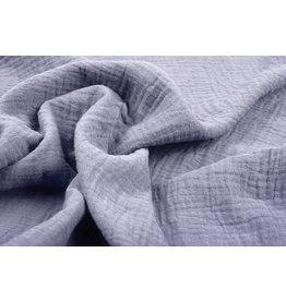 Oeko-Tex®  Baumwoll Musselin Stoff Violett