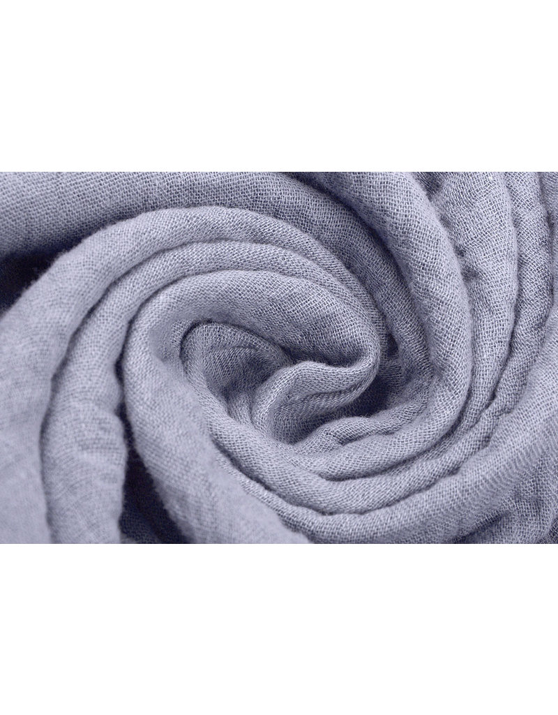Oeko-Tex®  Baumwoll Musselin Stoff Flieder