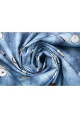 Stenzo 100% Digitaal Katoen Retro Auto Jeans
