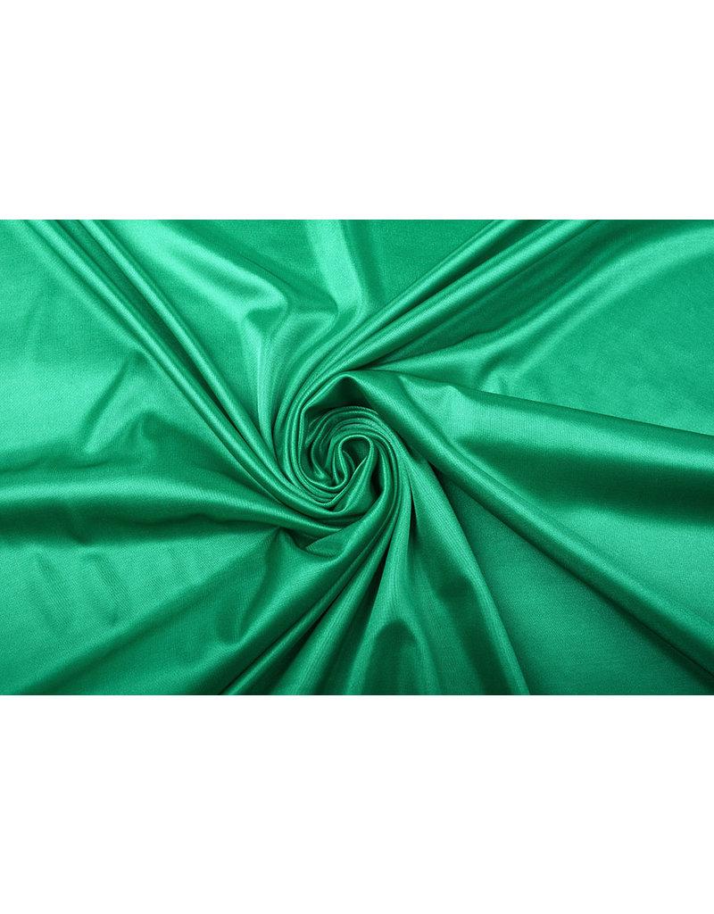 Charmeuse Voering Groen