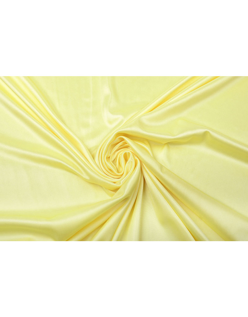 Charmeuse Futter Buttergelb