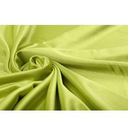 Charmeuse Futter Limettengrün