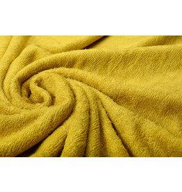 Oeko-Tex®  Bamboo Terry Cloth Ocher Yellow