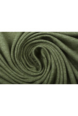 Oeko-Tex®  Cotton Jersey Army Groen Melange