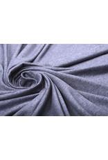 Oeko-Tex®  Cotton Jersey Donker Lila Melange