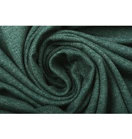 Oeko-Tex®  Cotton Jersey Dark Green Melange