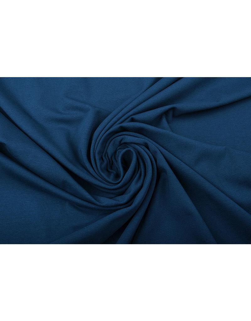 Oeko-Tex®  Cotton Jersey Politie Blauw