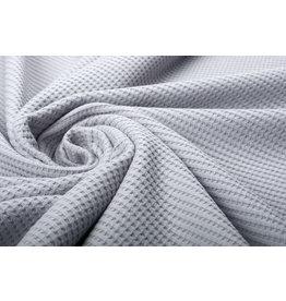 Stenzo Baby Jersey Waffle Pique Fabric Grey