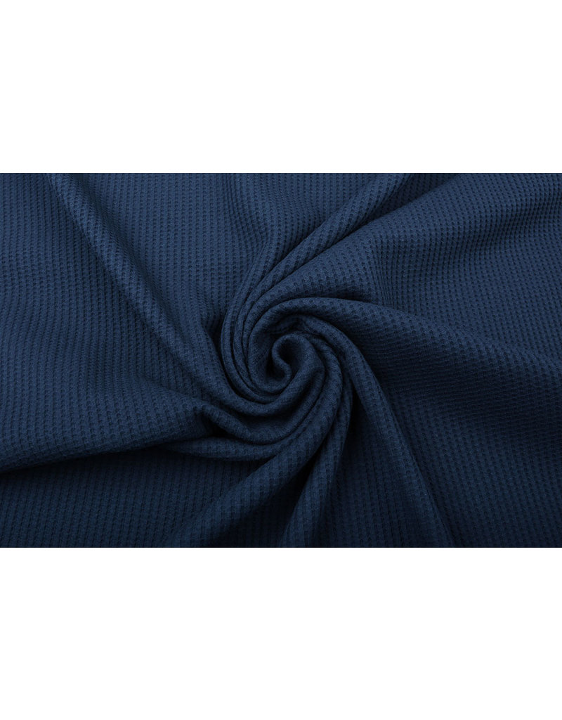 Stenzo Baby Jersey Wafel Katoen Marine Blauw