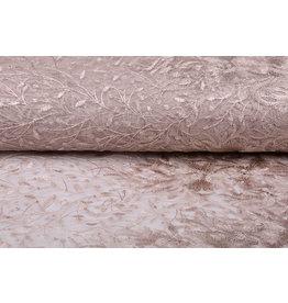 Mesh Embroidered Ravina Powder Pink
