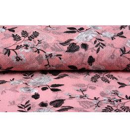 Mesh Embroidered Mawhero Pink