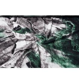 Tricot Lycra Jeans patroon