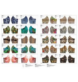 Stenzo Mundmasken Panel Tiere