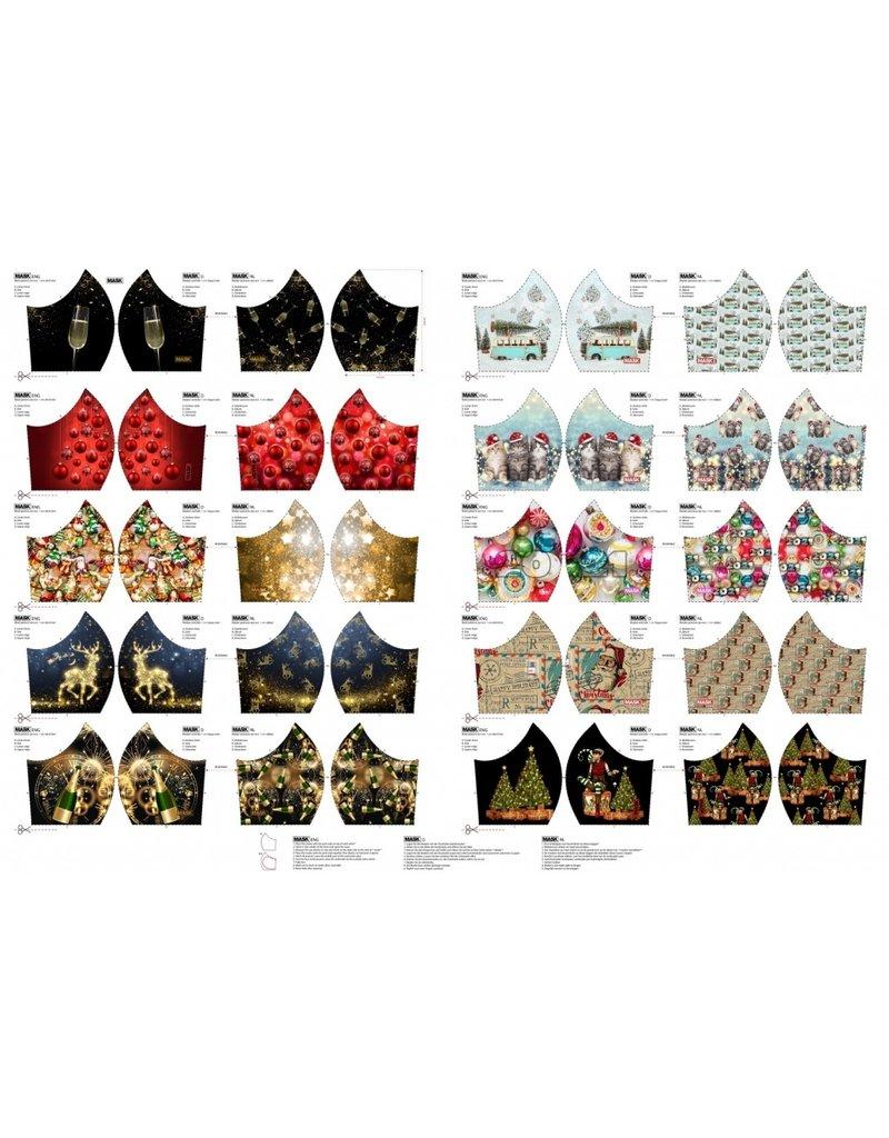 Stenzo Mundmasken Panel Feiertage