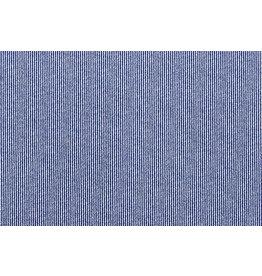 Jeans Stretch Cotton Stripes Blue