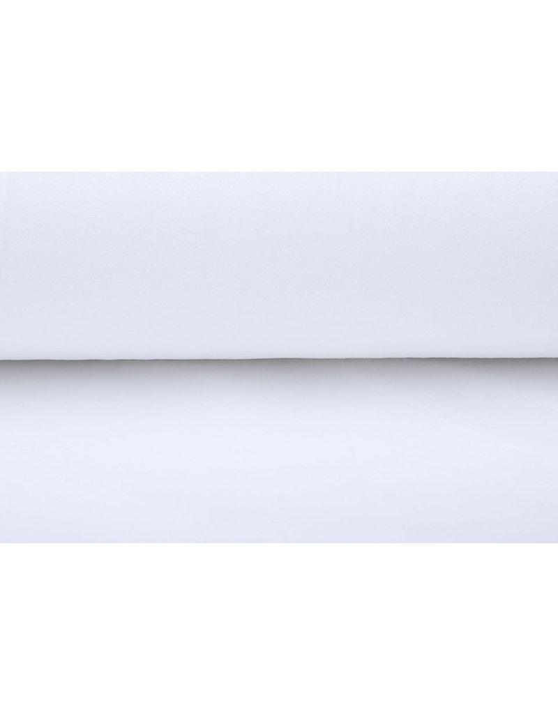 Molton 150cm Weiß