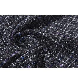 Bouclé Sjanelli Glitter Multi Zwart