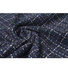 Bouclé Sjanelli Glitter Multi Blue