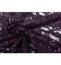 Lace Sequins Pakuhi Purple