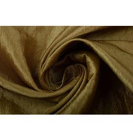 Crinkle Taft Dark Gold