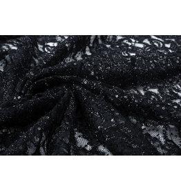Lace Sequins Pakuhi Black