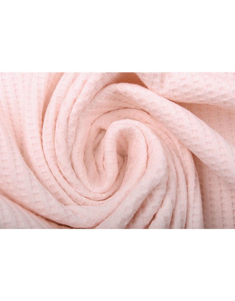 Stenzo Baby Jersey Wafel Katoen Licht Roze