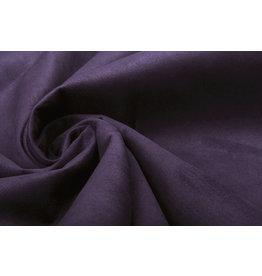Oeko-Tex®  Light Scuba Suede Dark Purple