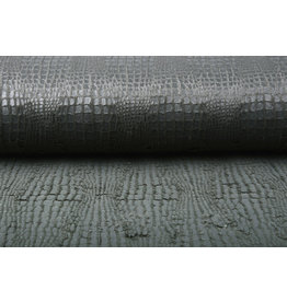 Fur Snake Foil Shiny Grey