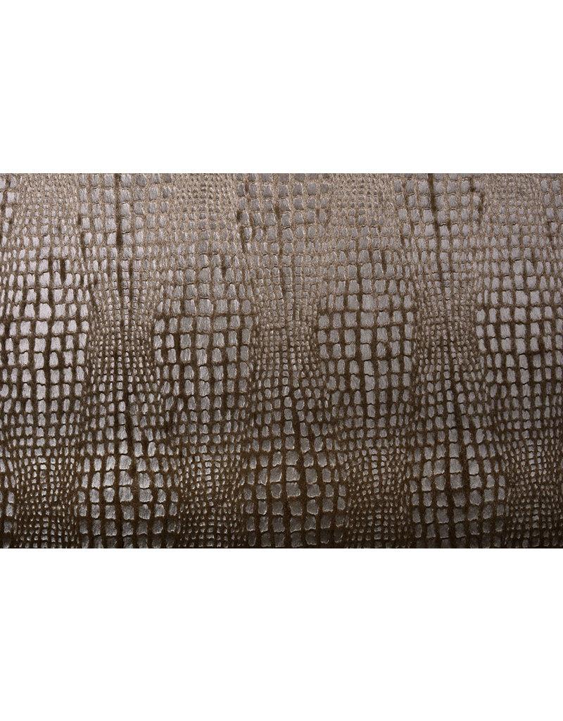 Fur Snake Foil Shiny Brown