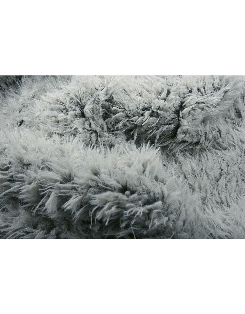 Lange Zottelplüsch Furpi-2-Tone  Grau