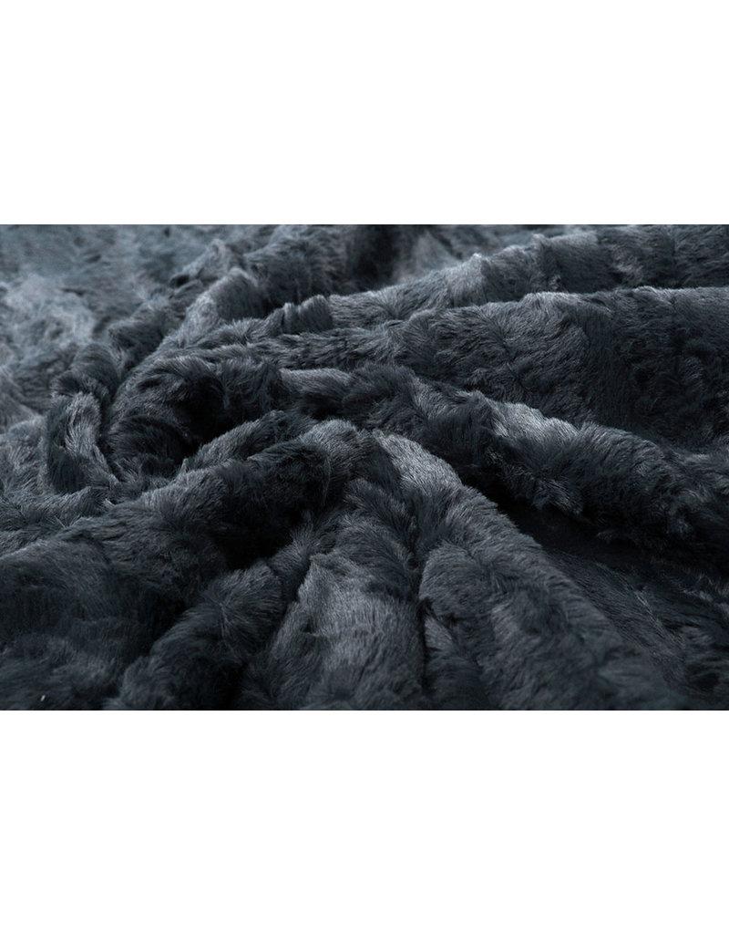 Kurz Zottelplüsch Furla Grau