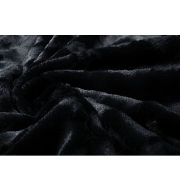 Short Hairy Fur Furrel Black
