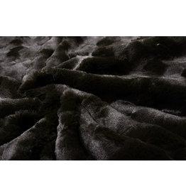 Short Hairy Fur Furrel  Dark Brown