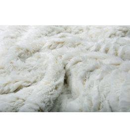 Short Hairy Fur 2-Tone Off White