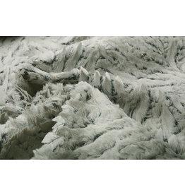 Short Hairy Fur 2-Tone Grey